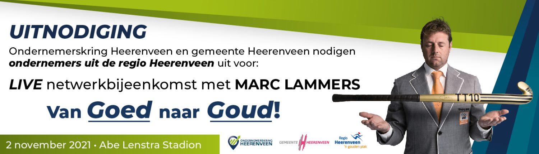 Marc Lammers in Abe Lenstra Stadion - OKH en Gemeente Heerenveen nodigen jou uit!